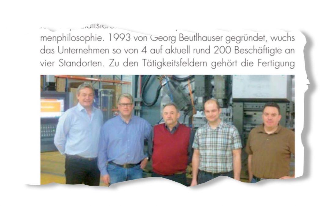 Beutlhauser Stanztec investiert in modernste Maschinentechnologie