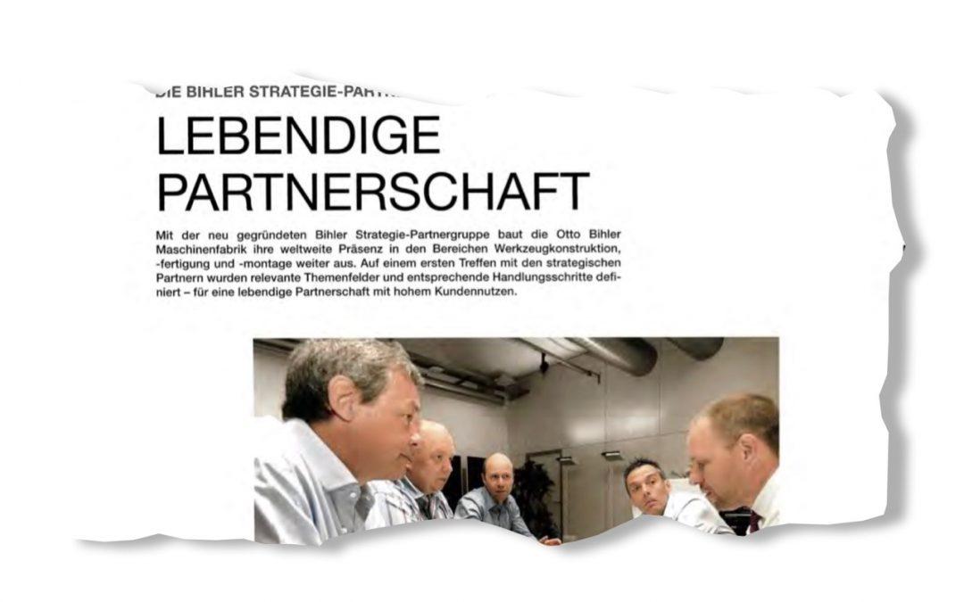 Lebendige Partnerschaft – die Bihler Strategie-Partnergruppe