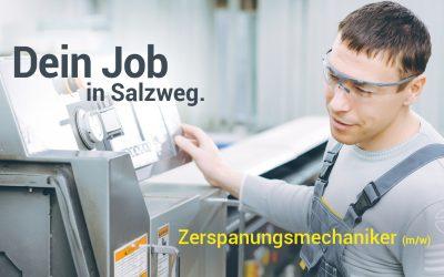 Zerspanungsmechaniker (m/w) für Salzweg gesucht